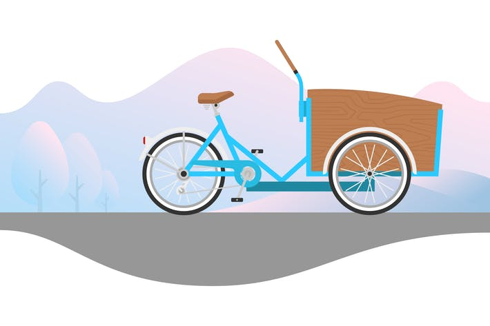 Thumbnail for Cargo/Delivery Bike