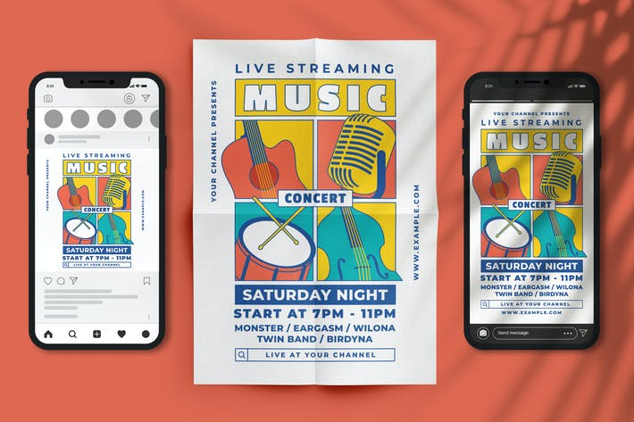 Streaming Music Concert