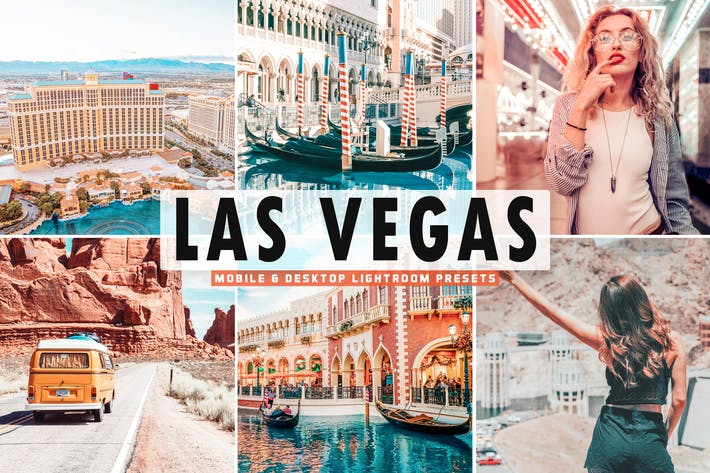 Thumbnail for Las Vegas Mobile & Desktop Lightroom Presets