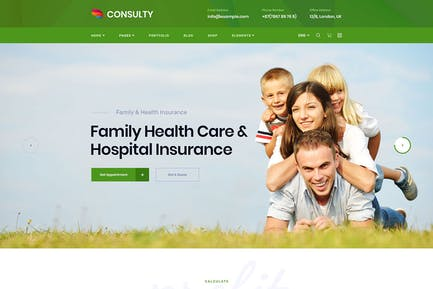 Consulty - Business Finance WordPress Theme