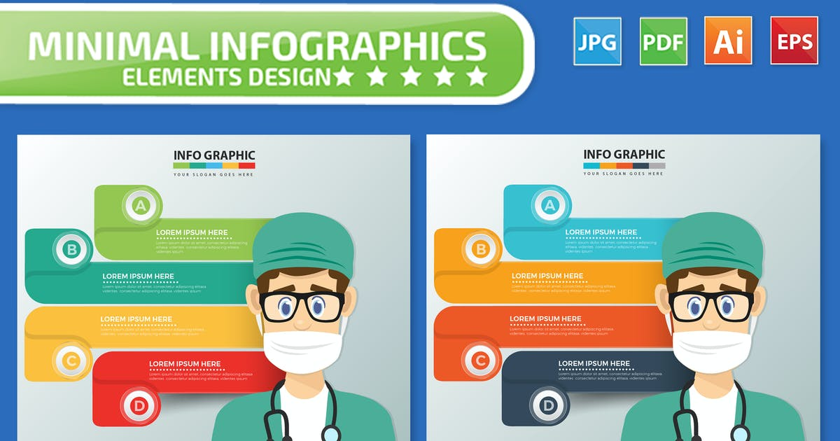 Download Doctor Infographics design by mamanamsai