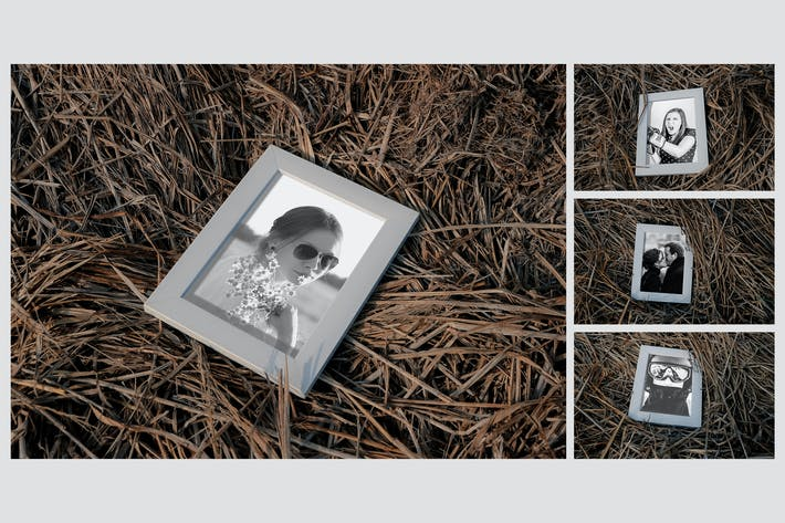 Cover Image For Photo Frame on Haistack Mock Up