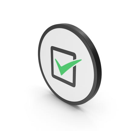 Icon Check Box Green
