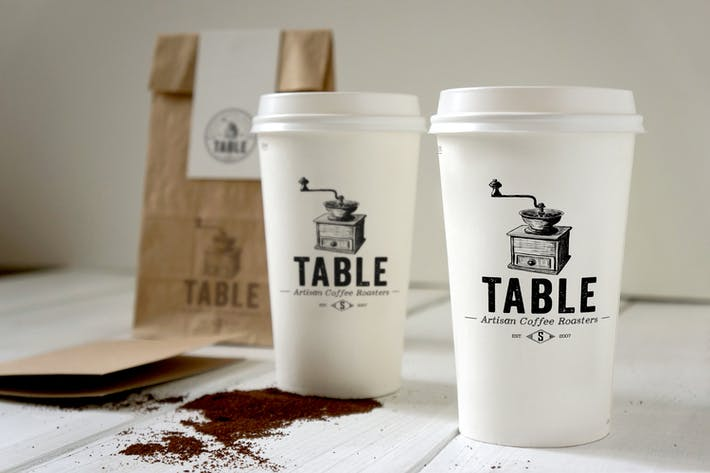 Thumbnail for Coffee Branding Mockup