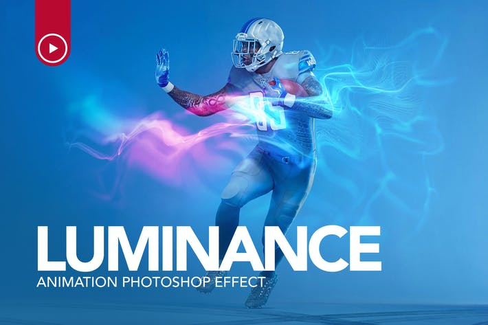 Thumbnail for Gif Animated Luminance Photoshop Action