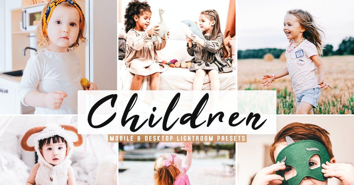 Download Children Mobile & Desktop Lightroom Presets by creativetacos