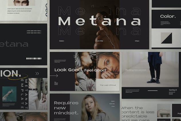 Metana - Modern Keynote Creative Agancy