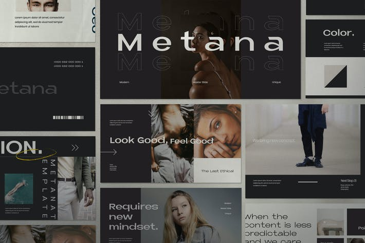 Thumbnail for Metana - Modern Keynote Creative Agancy