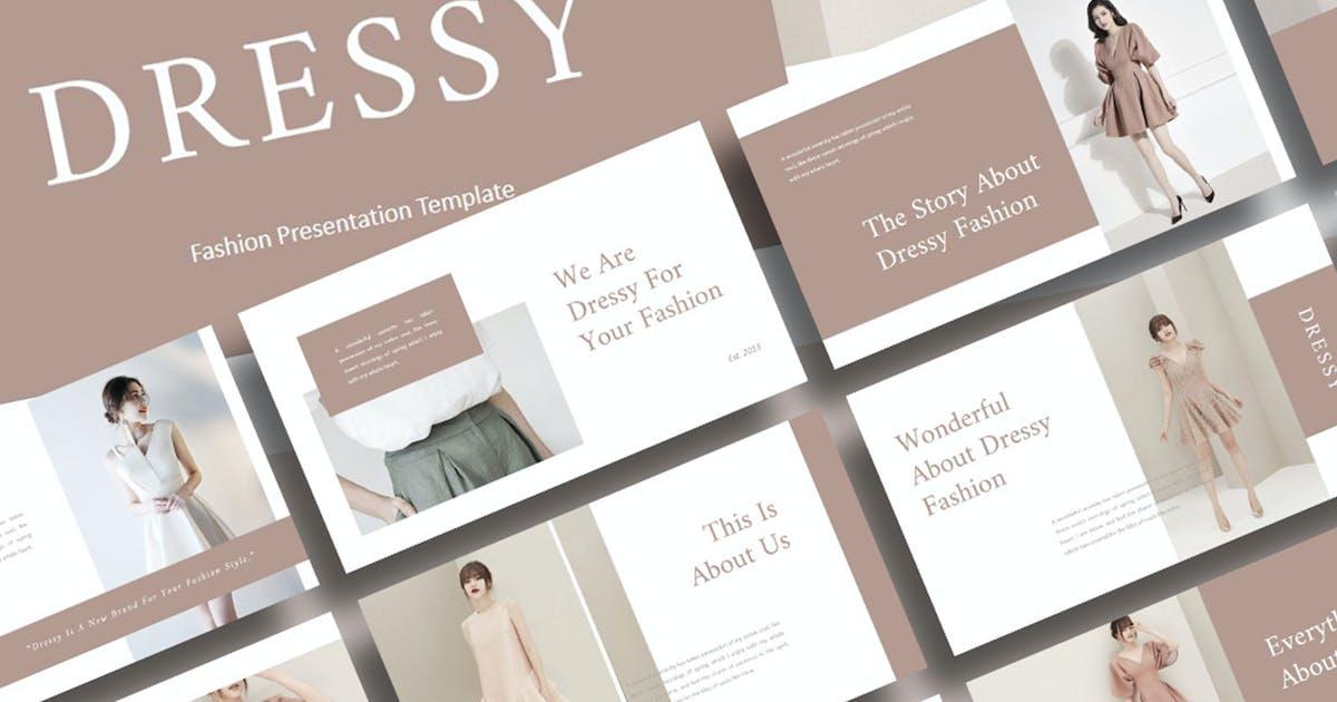 Download Dressy – Fashion PowerPoint Template by raseuki