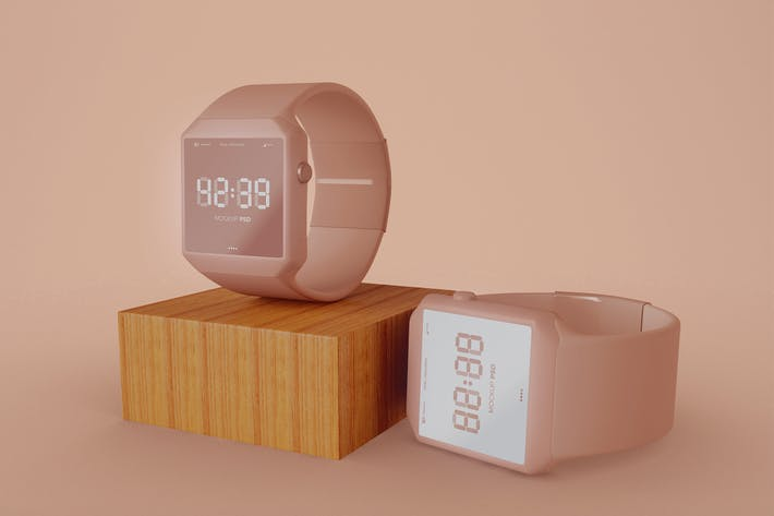 Thumbnail for Smart Watch Mockup