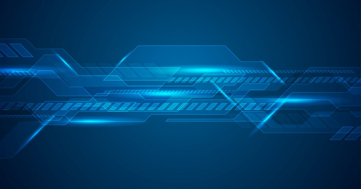 Download Dark blue technology futuristic background by saicle
