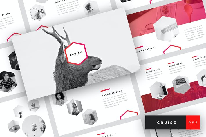 Thumbnail for Cruise - Creative PowerPoint Template