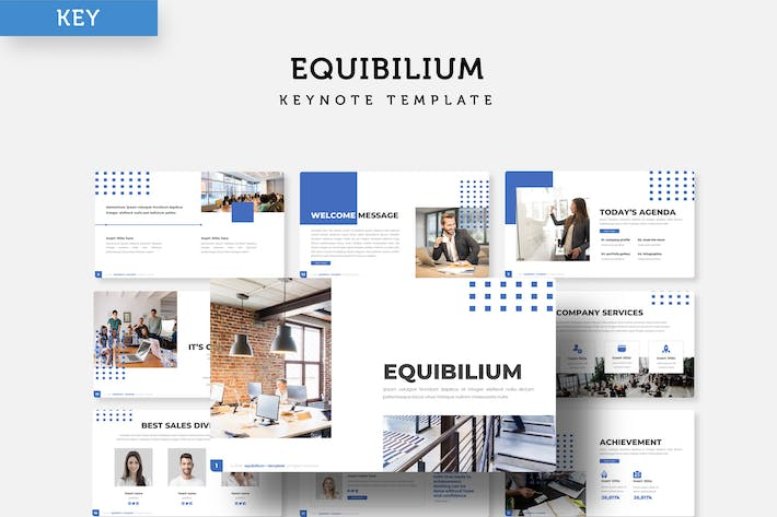 Thumbnail for Equibilium - Keynote Template