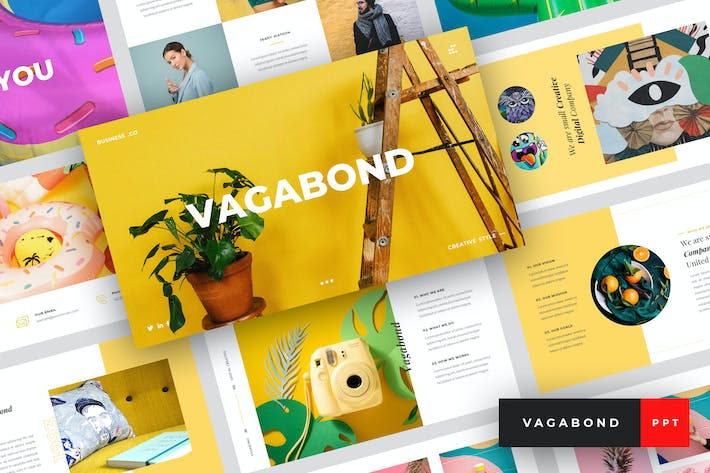 Thumbnail for Vagabond - Creative & Business PowerPoint Template