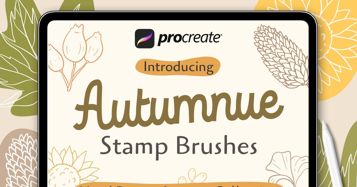 Download Autumnue - Procreat Brushes by Streakside