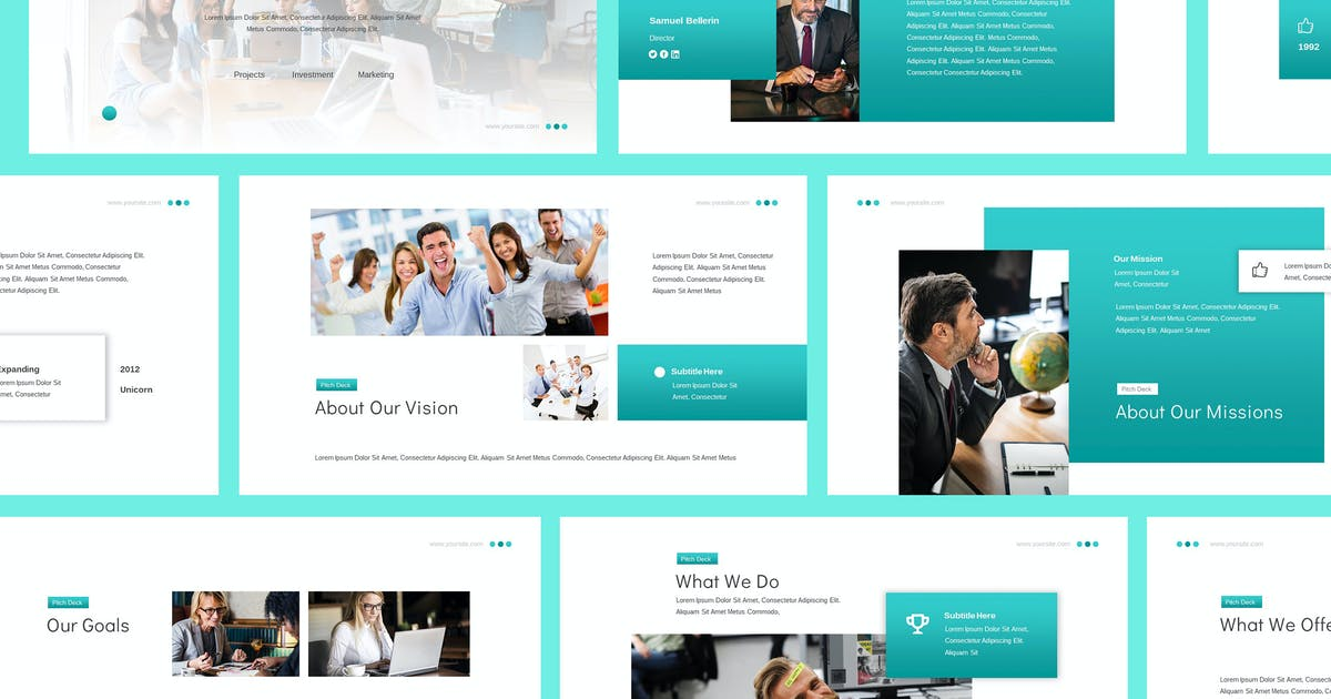 Download Business Proposal Powerpoint Presentation by giantdesign
