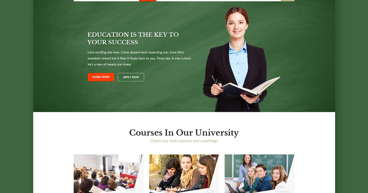 Download Educampus - Education & University PSD Template by WPmines