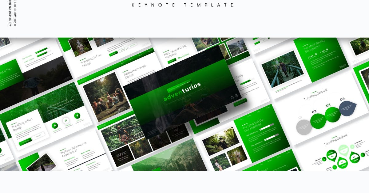 Download Adventurios - Keynote Template by aqrstudio