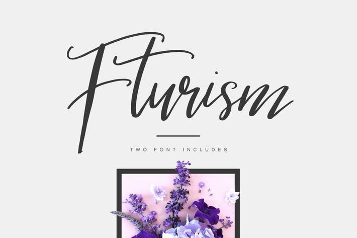 Thumbnail for Fturism Typeface