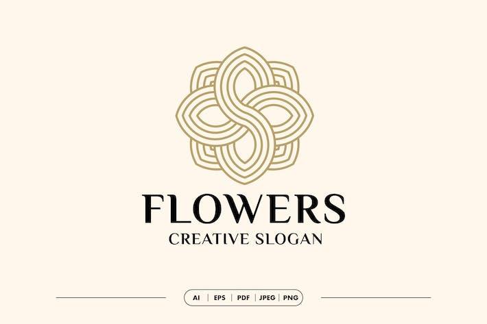 Flower Luxury Logo