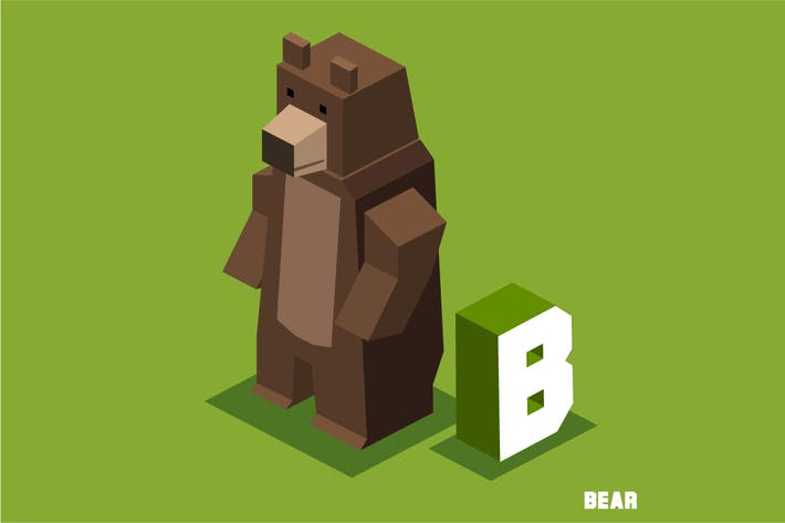 Thumbnail for B for Bear. Animal Alphabet