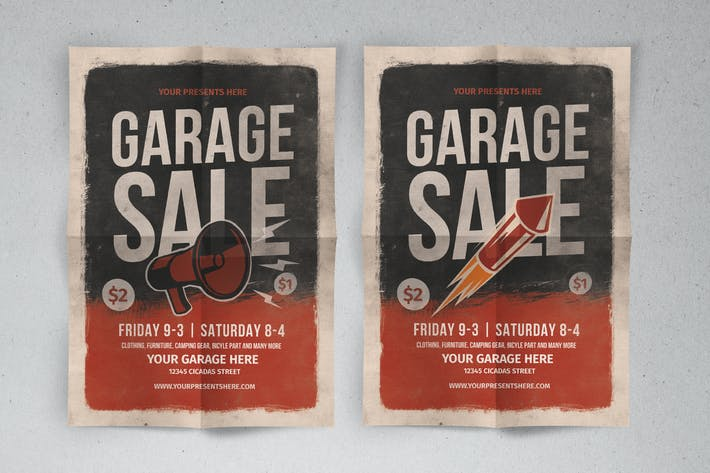 Thumbnail for Gerage sale flyer