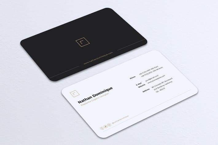 Thumbnail for Minimalist Business Card Vol. 20