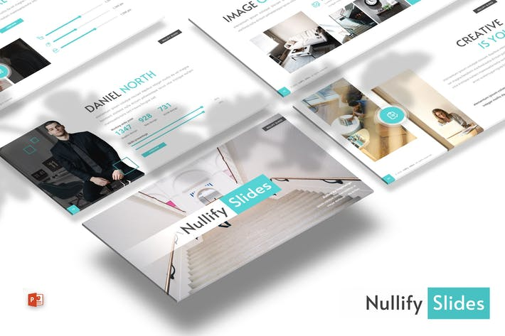 Thumbnail for Nullify - Business Powerpoint Template