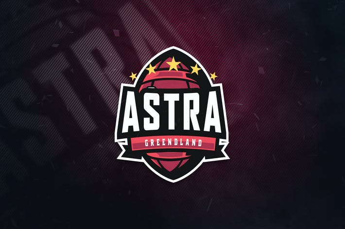 Thumbnail for Astra Greendland Sports Logo