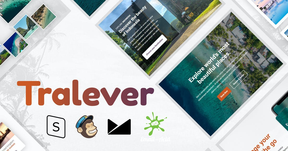 Download Tralever - Book & Travel Responsive Email by Psd2Newsletters