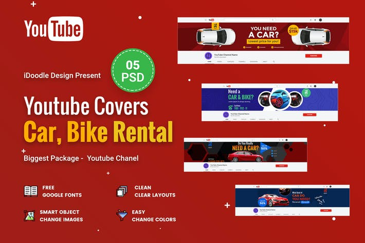 Thumbnail for Car & Bike Rental Youtube Chanel