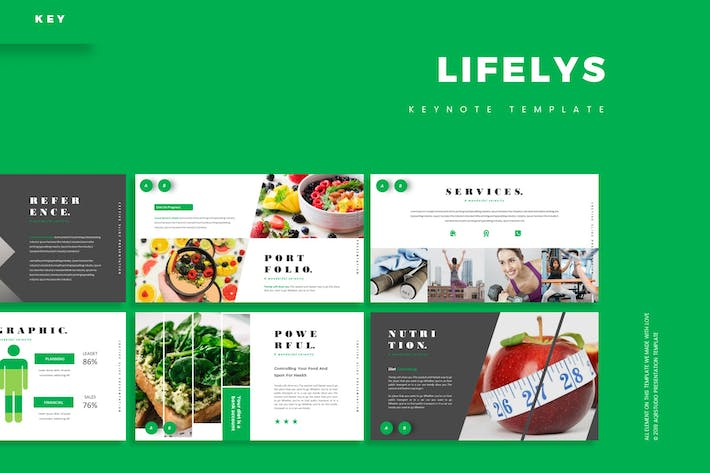 Thumbnail for Lifelys - Keynote Template
