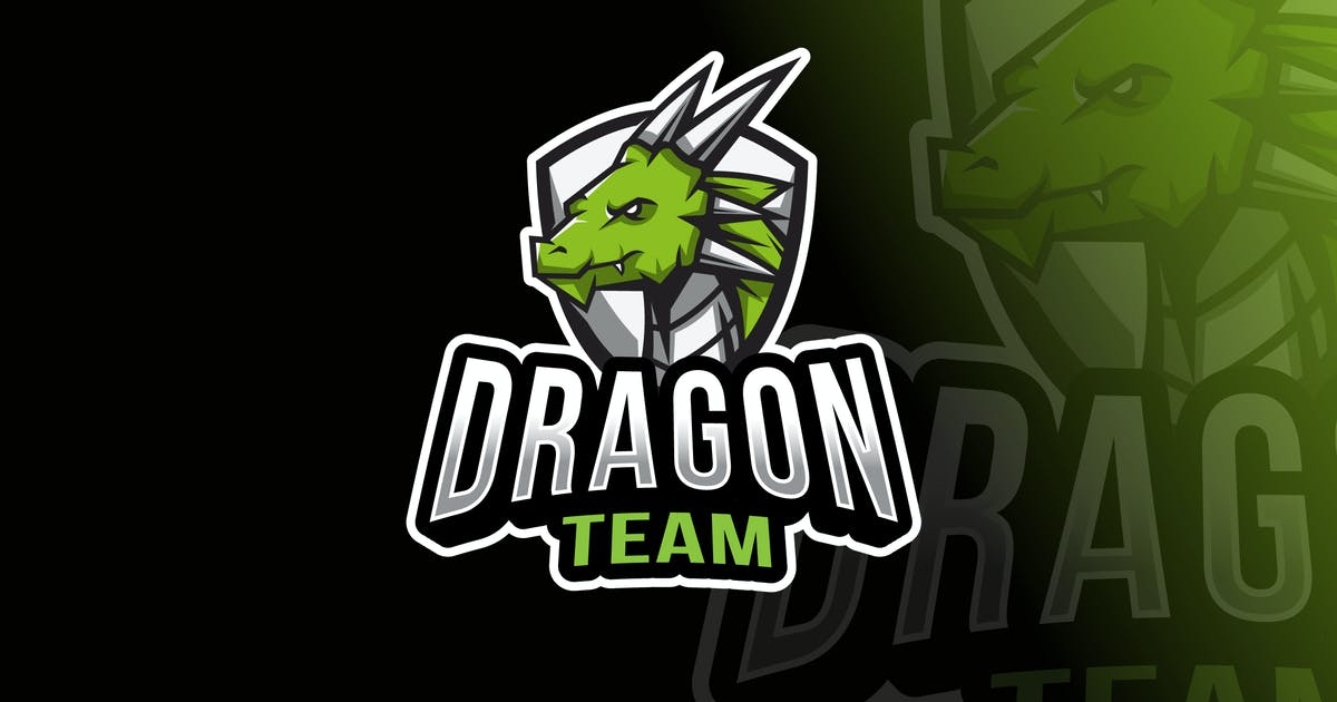 Download Dragon Team Logo Template by IanMikraz
