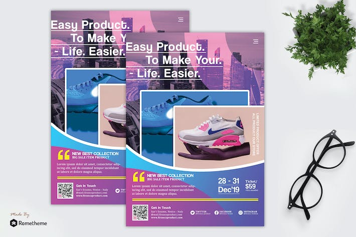 Thumbnail for Firanca - Product Promotion Flyer HR