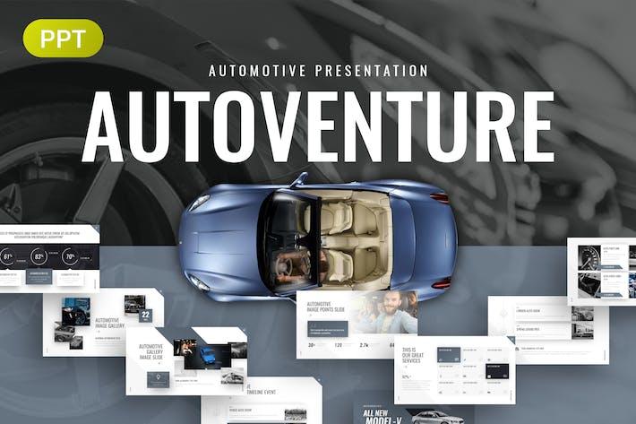 Thumbnail for Autovventure Automotive PowerPoint Vorlage