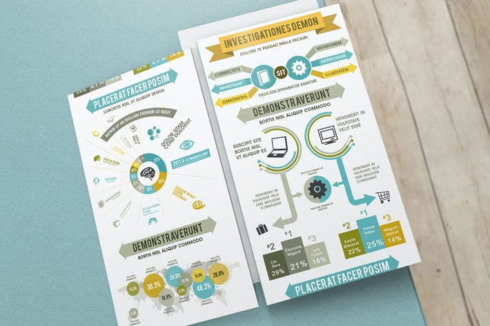 Thumbnail for Product Comparison Infographics Template