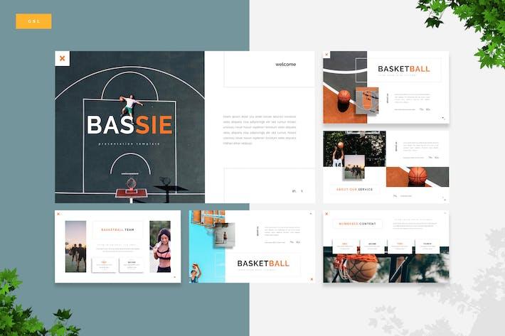 Thumbnail for Bassie - Basketball Google Slides Template