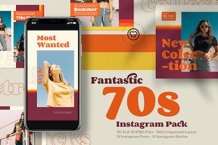 Fantastic 70's Instagram Pack