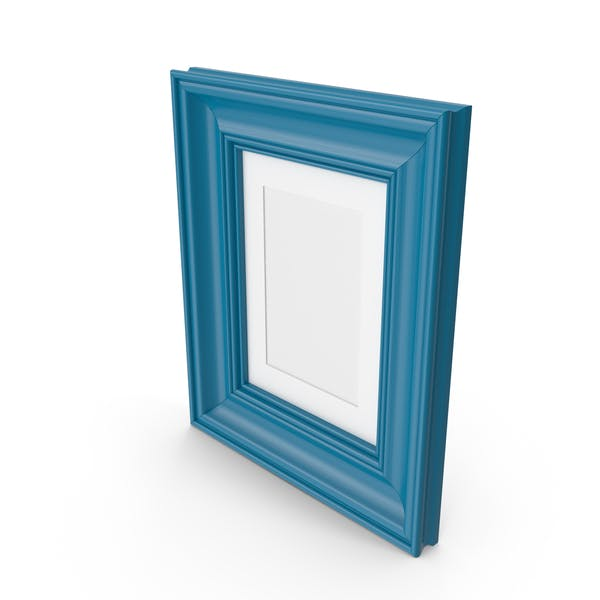 Thumbnail for Blue Wooden Picture Frame