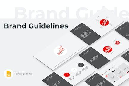 Brand Guidelines Google Slides Template