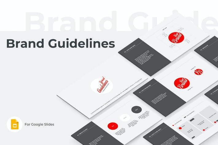 Brand Guidelines Google Slides Template