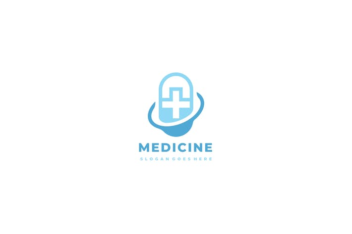 Thumbnail for Medical Pill Logo