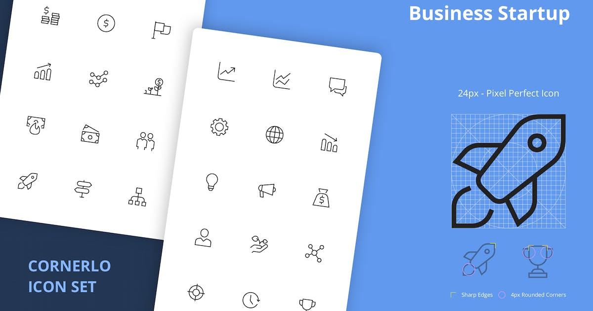 Download Startup Icon Set - CORNERLO by spacestudios