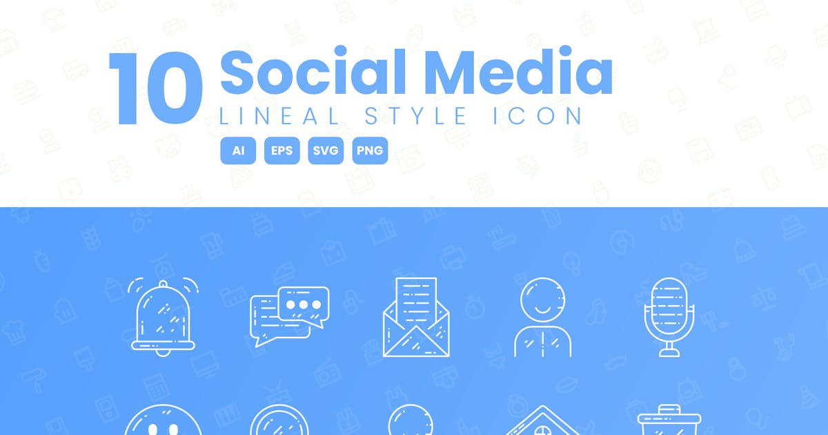 Download 10 Social Media Detailed Icon Collection by studiotopia