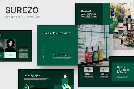 Surezo - Recycle Products Keynote