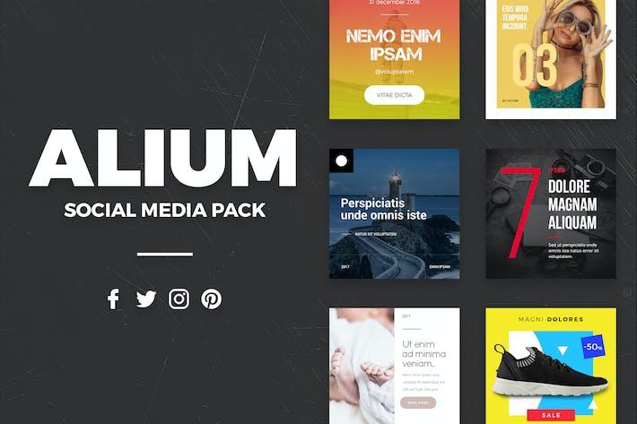 Cover Image For ALIUM - Social Media Pack