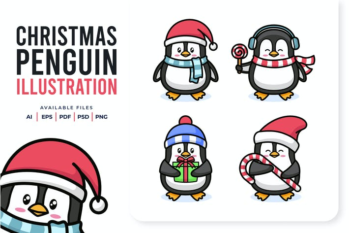 Thumbnail for Christmas Penguin
