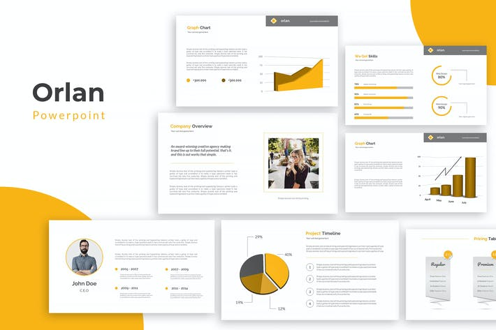 Thumbnail for Orlan Powerpoint Template