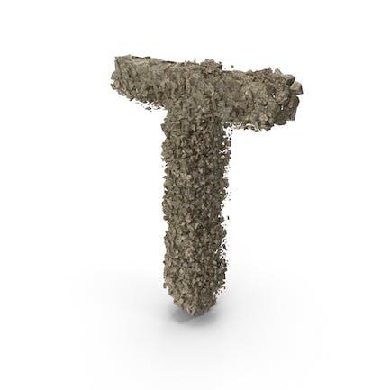 Destruction Stone Buchstabe T