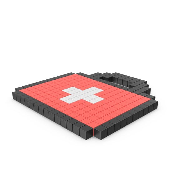 Thumbnail for Pixelated First Aid Icon
